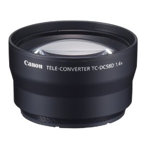 TC-DC58D 1.4x Telephoto Lens For PowerShot G10