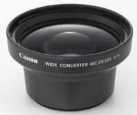 WC-DC52A Wide Angle Converter For PowerShot S1 Is