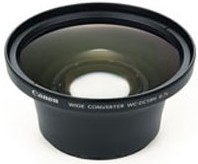 WC-DC58N Wide Angle Lens (Lens Adapter Required)