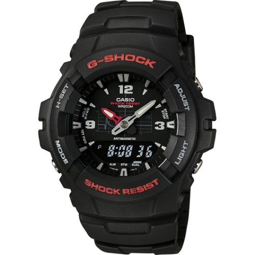 G100-1BV G-Shock Analog/Digital Watch