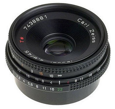 45mm f/2.8 MM Zeiss Tessar T* Normal Lens *FREE SHIPPING*