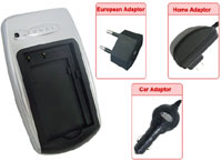 AC/DC Battery Charger For Sony NP-Fp50, NP-Fp70 & NP-Fp90 Batteries (110/220v With Car Adapter)