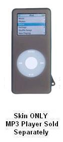 Ip-Hnabl Ipod Nano Skin Case Black