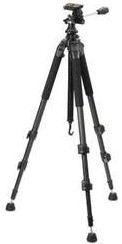 Fgx10 Carbonlitex10 Carbon Fiber 3-Section Tripod With 3-Way Head  *FREE SHIPPING*