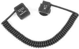 RS-0447 3 Foot PTtl Off-Camera Flash Shoe Cord For  Film & Digital Cameras *FREE SHIPPING*