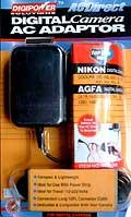 Ac Adaptor F/Agfa & Nikon Cameras *FREE SHIPPING*