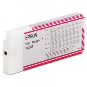Epson T606300 220 Ml Vivid...