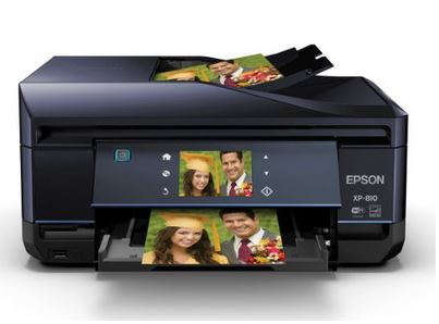 Expression Premium XP-810 Wireless All-In-One Compact Color Photo InkJet Printer