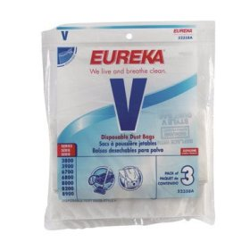 52358 Style V Disposable Dust Bags - (3 Bags Per Pack) *FREE SHIPPING*