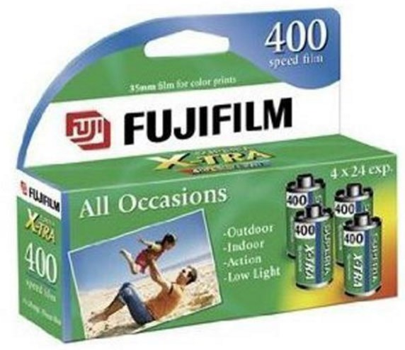 SUPERIA HIGH SPEED 35MM ISO 400 24EXP - 4 PK