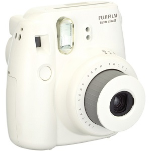 Instax Mini 8 Instant Film Camera - White *FREE SHIPPING*