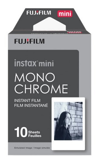 Instax mini Monochrome Instant Film Pack  (10 Exposure) *FREE SHIPPING*
