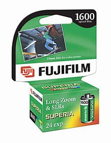 Cu 135-36 Superia Color Print Film (1600 Asa)
