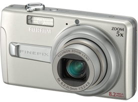 Finepix J50 8.2 Megapixel, 5x Optical Zoom, 2.7 Inch LCD Screen Digital Camera