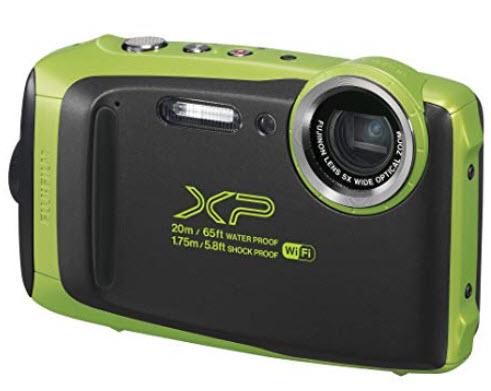 FinePix XP130 16.4 MP Rugged Waterproof Compact Digital Camera - Lime *FREE SHIPPING*