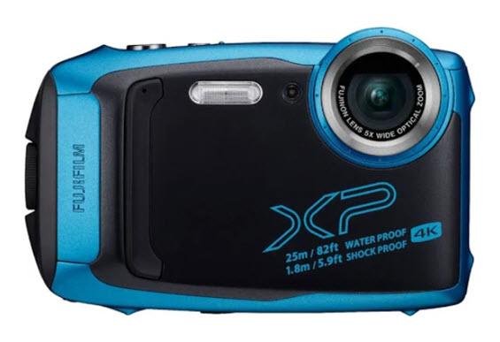 FinePix XP140 16.4 MegaPixel, 5x Opt Zoom Rugged Waterproof XP Action Camera - Sky Blue *FREE SHIPPING*