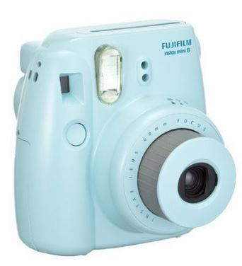 Instax Mini 8 Instant Film Camera - Blue *FREE SHIPPING*