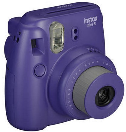 Instax Mini 8 Instant Film Camera - Grape *FREE SHIPPING*