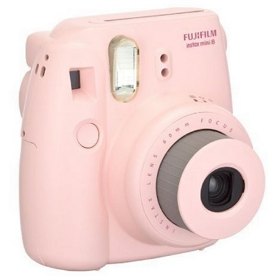 Instax Mini 8 Instant Film Camera - Pink *FREE SHIPPING*