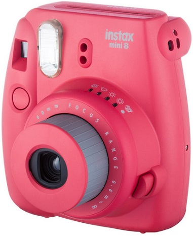 Instax Mini 8 Instant Film Camera - Raspberry *FREE SHIPPING*