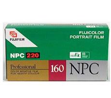 Npc 220 Pro Color Print Film (160 Asa)