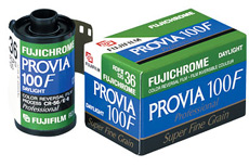 Provia F Rdp 135-36 chrome Pro Color Slide Film (100 Asa)