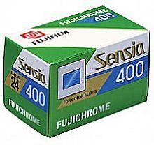 Sensia Rh 135-36 chrome Color Slide Film (400 Asa)