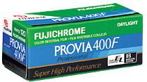 Rhp 120 chrome Provia F Pro Color Slide Film (400 Asa)