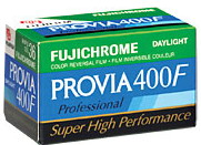 Provia F Rhp 135-36 chrome Pro Color Slide Film (400 Asa)