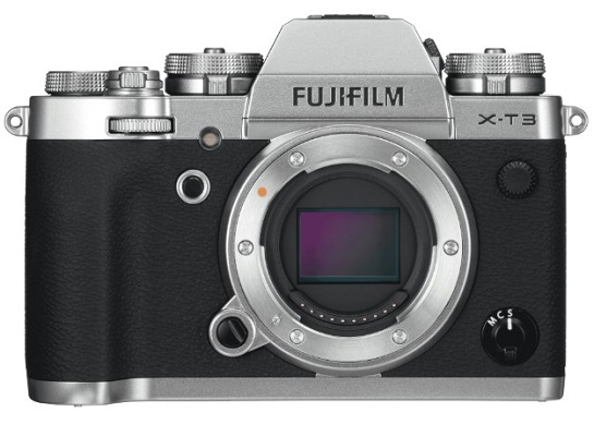 X-T3 26.1 Megapixel Mirrorless Digital Camera Body - Silver *FREE SHIPPING*
