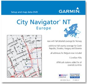 Mapsource City Navigator Europe Nt (Cd)