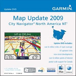 Map Update 2009 City Navigator North America Nt