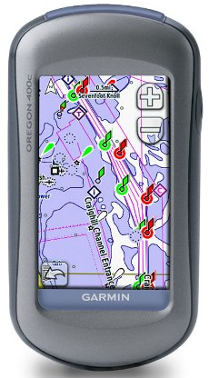 Oregon 400c, Handheld Mapping GPS Receiver W/ Bluechart G2 Coastal Charts *FREE SHIPPING*