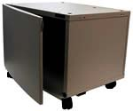 Universal Copier Stand W/ Storage (Black Metallic Finish), For Standard Size Office Machines *FREE SHIPPING*
