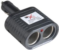 Dual Car Cigarette Lighter Adapter
