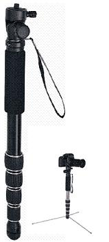 MM5580 P-Pod Aluminum Monopod w/Twist Leg Locks *FREE SHIPPING*