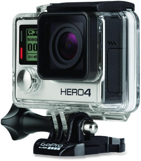 HERO4 Action Waterproof Camera - Silver *FREE SHIPPING*