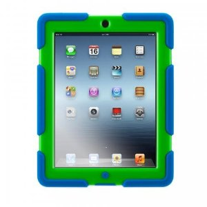 Survivor Military Duty Case for iPad 2/3/4 - Blue/Green *FREE SHIPPING*