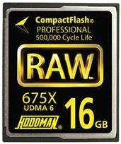 16GB 675X 100Mb/s UDMA RAW Compact Flash Memory Card *FREE SHIPPING*