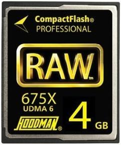 4GB 675X 100Mb/s UDMA RAW Compact Flash Memory Card *FREE SHIPPING*