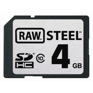 RAW STEEL 4GB SHDC Class 10 Memory Card *FREE SHIPPING*