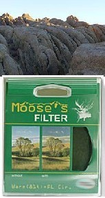 62mm Warm Circular Polarizer Moose Peterson's Filter *FREE SHIPPING*