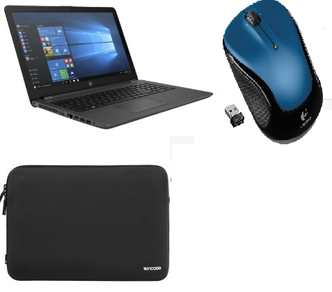 "HP 15.6"" 255 G6 Series Notebook 8GB ram kit with Sleeve & wireless Mouse *FREE SHIPPING*"