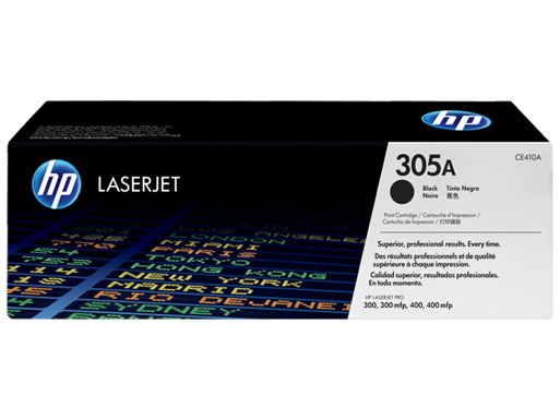 305A Black LaserJet Toner Cartridge