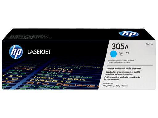 305A Cyan LaserJet Toner Cartridge