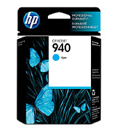 940 Cyan Officejet Ink Cartridge Cyan (Yield: 900 Pages)