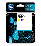 940 Yellow Officejet Ink Cartridge Yellow (Yield: 900 Pages)