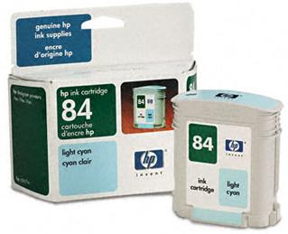 HP 84 Light Cyan Ink Cartridge
