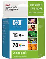 15/78d Inkjet Print Cartridge Combo Pack