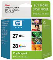 27/28 Inkjet Cartridge Combo Pack